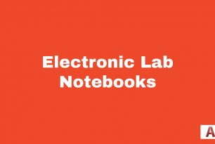 Electronic Lab Notebooks