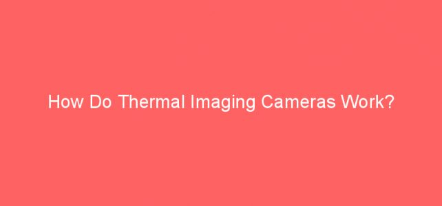 How Do Thermal Imaging Cameras Work?